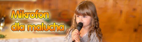 Mikrofon dla malucha