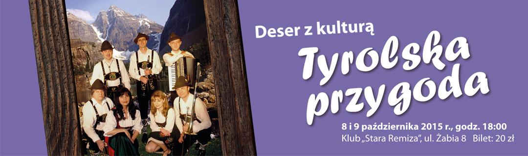 baner Tyrolska przygoda