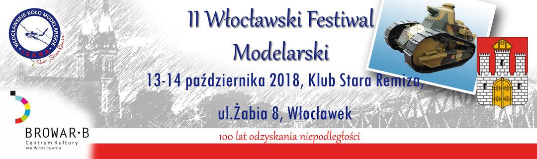 .II Włocławski Festiwal Modelarski 2018.10.12-13.