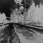 "Pavel Talich, ""Záznam 20"", camera obscura, 2019 r."