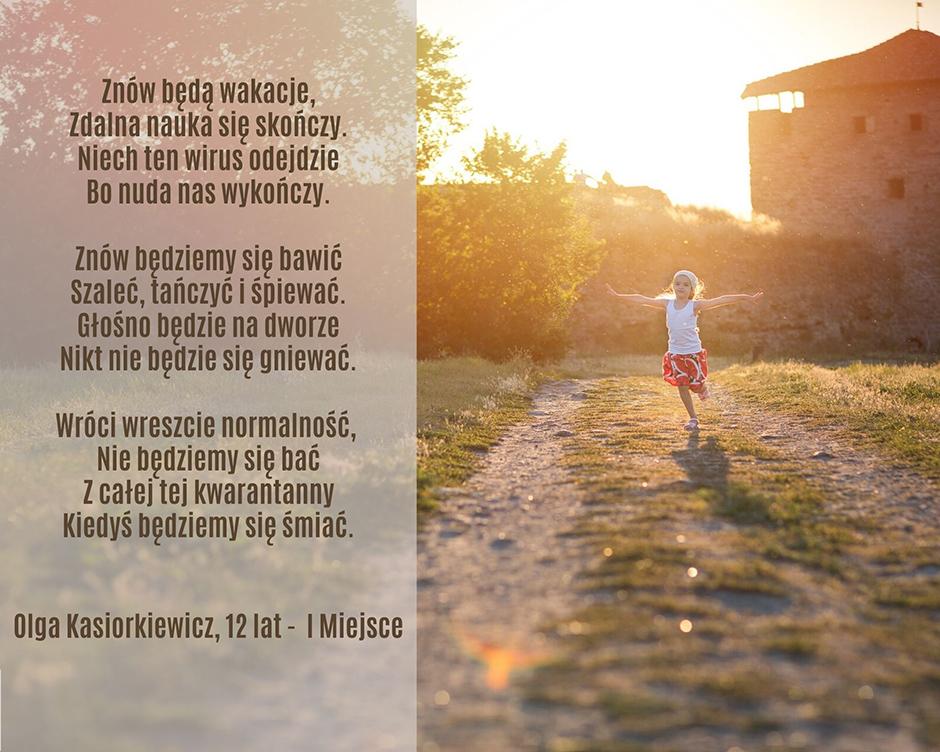 Olga Kasiorkiewicz, 12 lat - I Miejsce