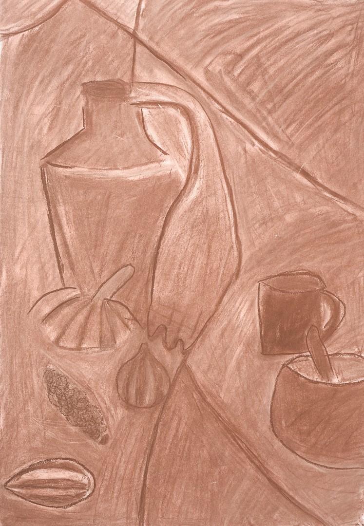 Jakub Kruszka (14 lat), Grafika malarstwo i rysunek