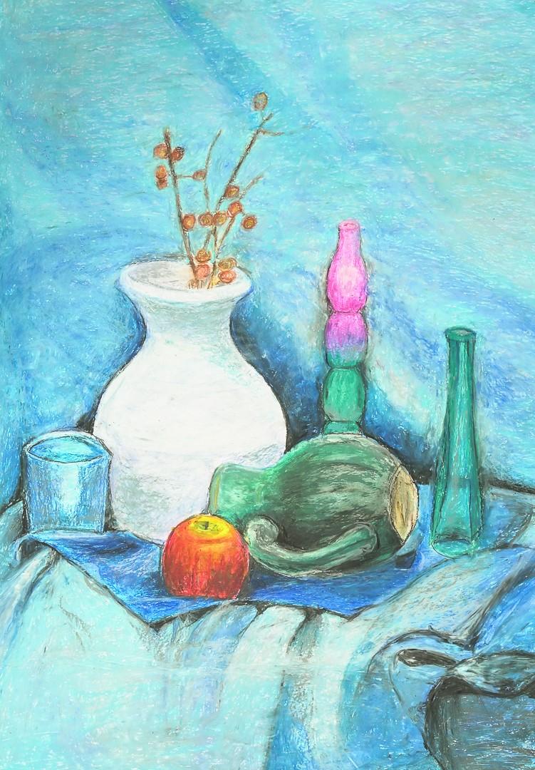 Jolanta Haładaj (20+), Grafika malarstwo i rysunek