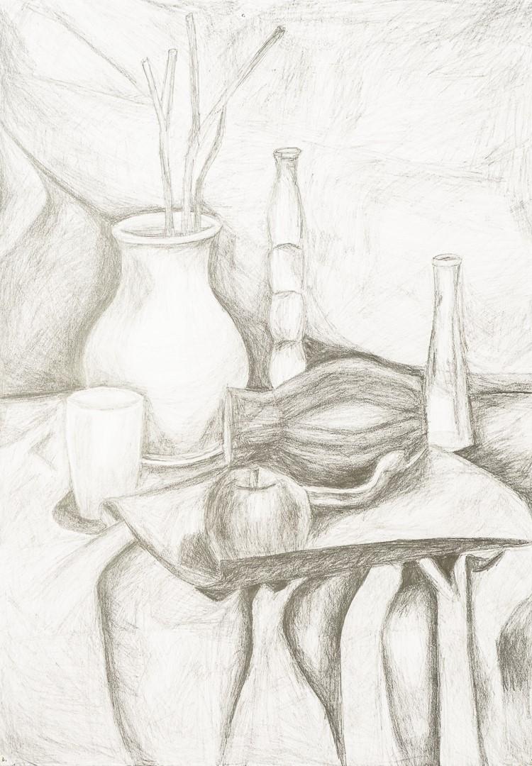 Zofia Słomska (17 lat), Grafika malarstwo i rysunek