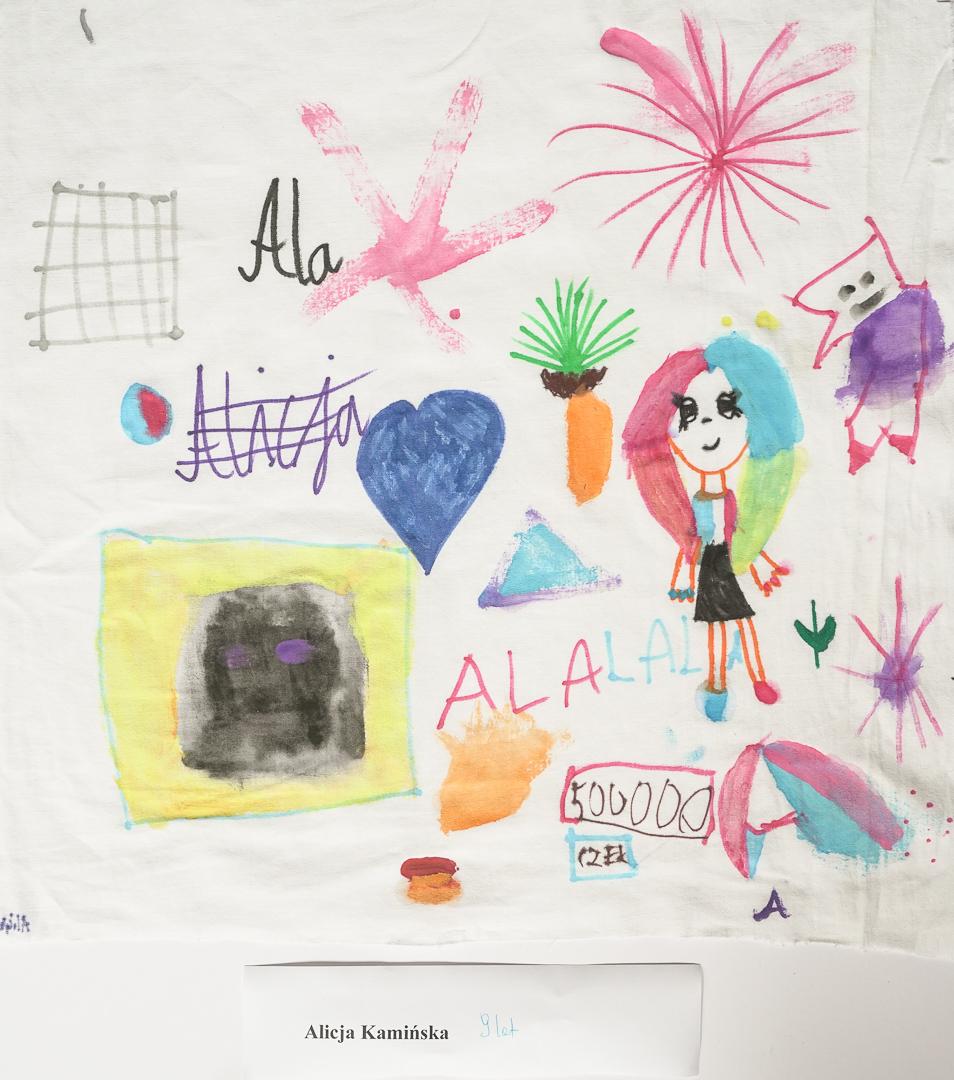 Alicja Kamińska  (9 lat), Techniki Eksperymentalne
