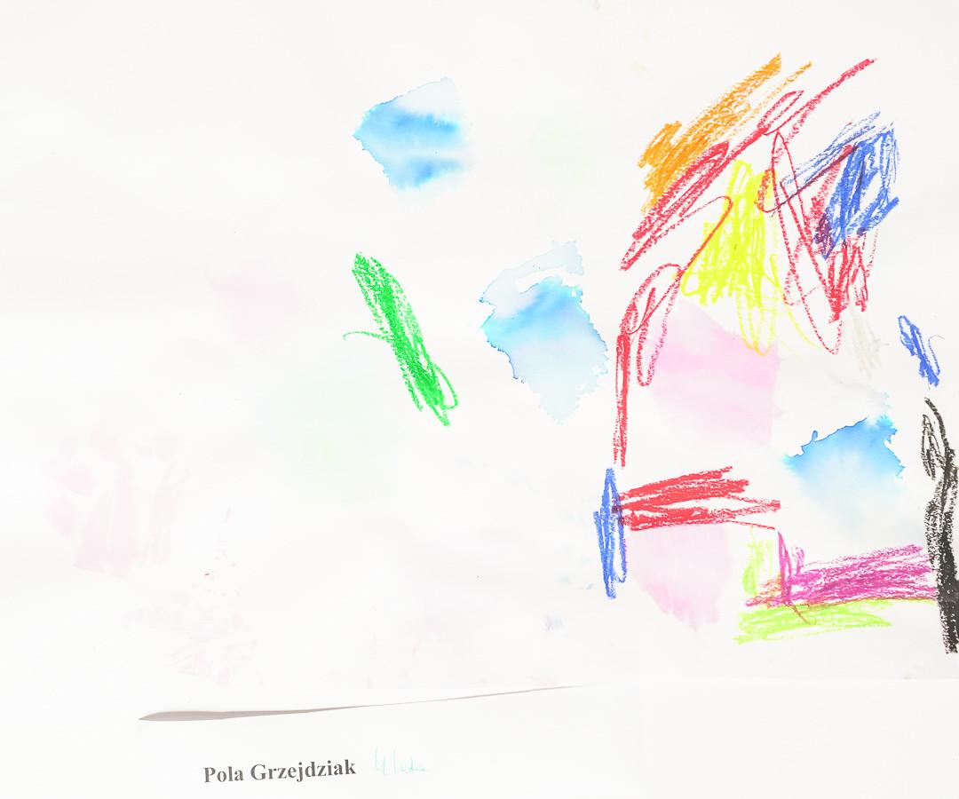Pola Grzejdziak (5 lat), Techniki Eksperymentalne