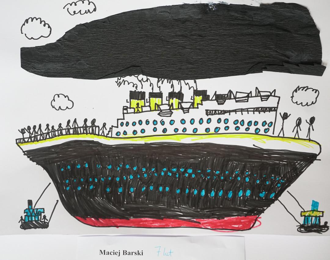 Maciej Barski (7 lat), Techniki Eksperymentalne