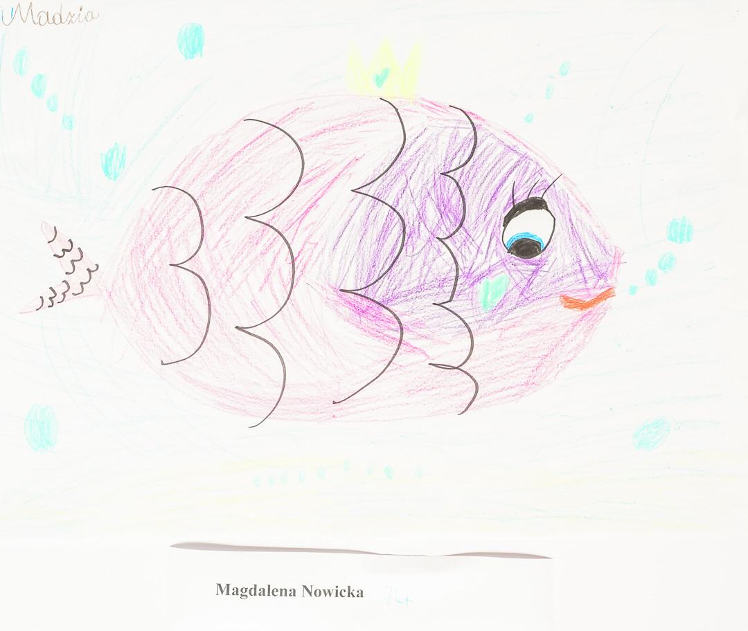 Magdalena Nowicka  (7lat), Techniki Eksperymentalne