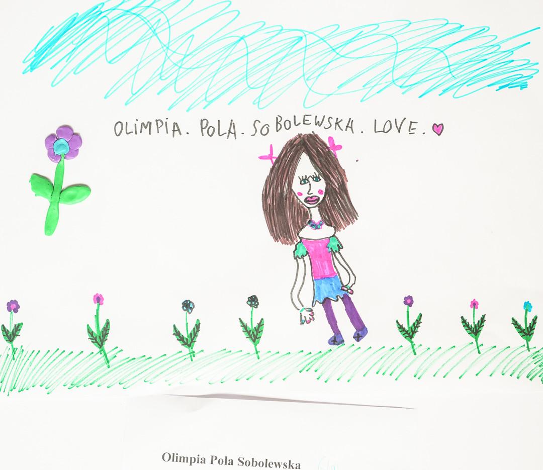 Olimpia Pola Sobolewska  (6 lat), Techniki Eksperymentalne