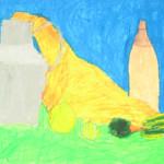 Balbina Sobolewska  (9lat), Grafika malarstwo i rysunek
