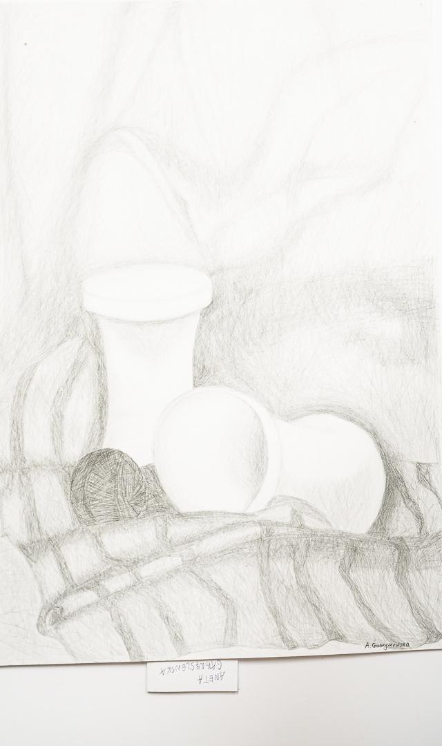 Aneta Gabryszewska  (20+), Grafika malarstwo i rysunek