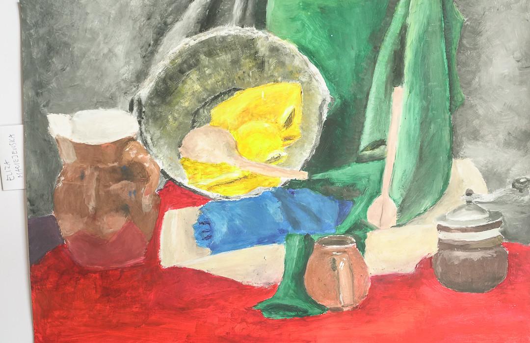 Eliza Maciejewska (14 lat), Grafika malarstwo i rysunek