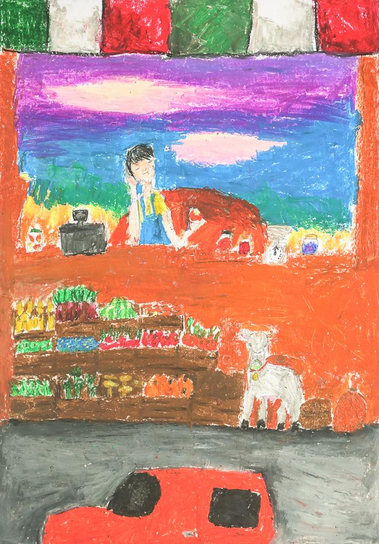 Gabriela Idryan  (11 lat), Grafika malarstwo i rysunek