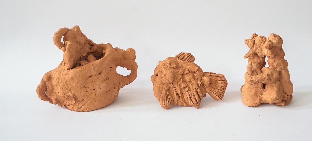Jan Miciński (7 lat), Ceramika