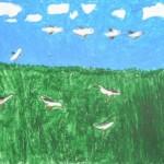 Zosia Garnys (10 lat), Grafika malarstwo i rysunek