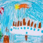 Olga Szade, 6 lat
