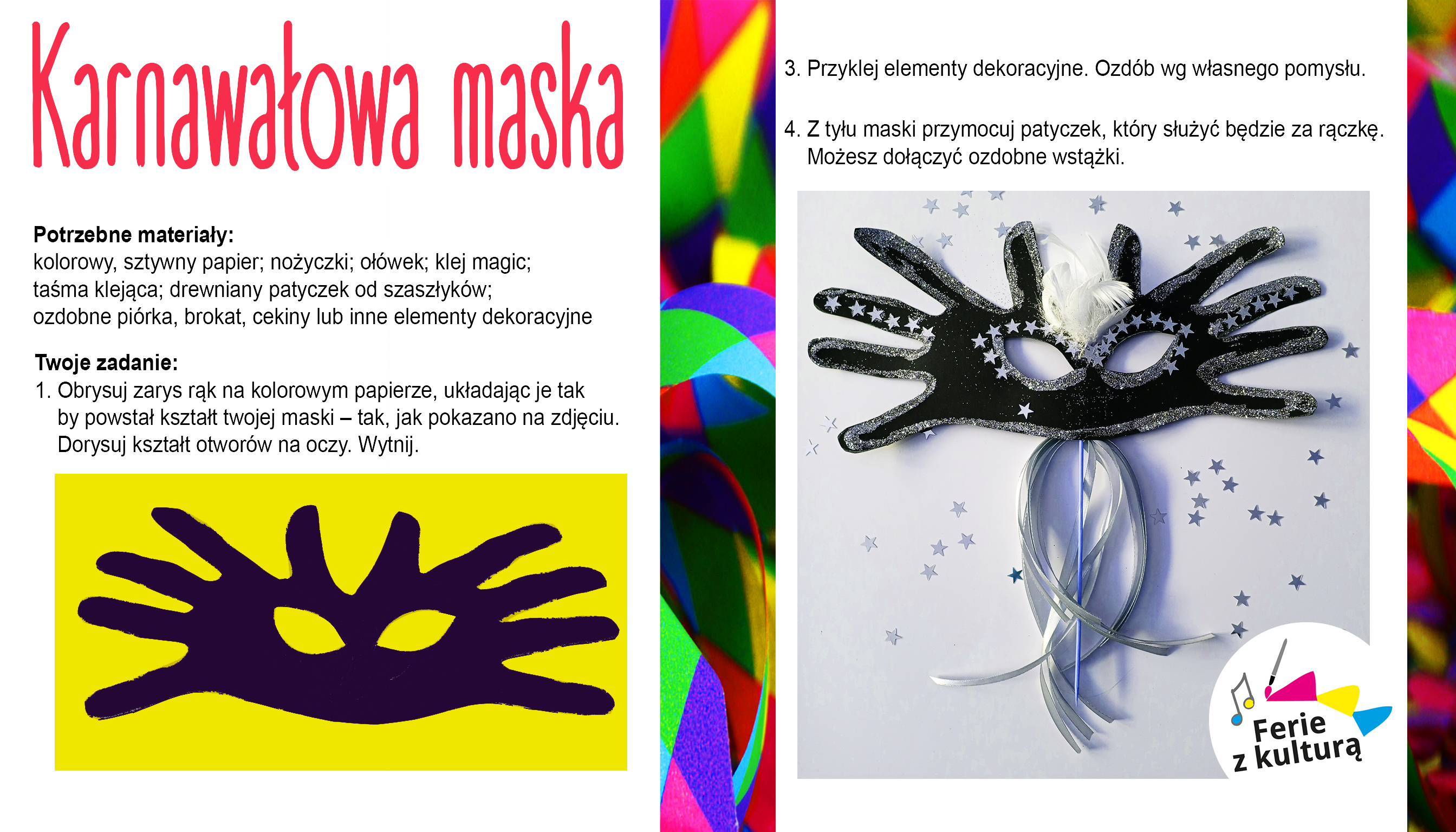 karnawalowa maska